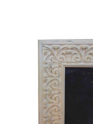 Detail of Ornate French provincial picture frame