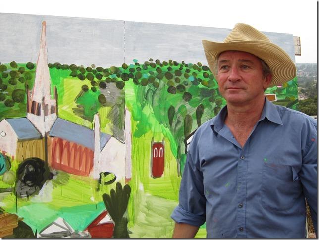 Melbourne Australia, Modern artist, Mark Schaller
