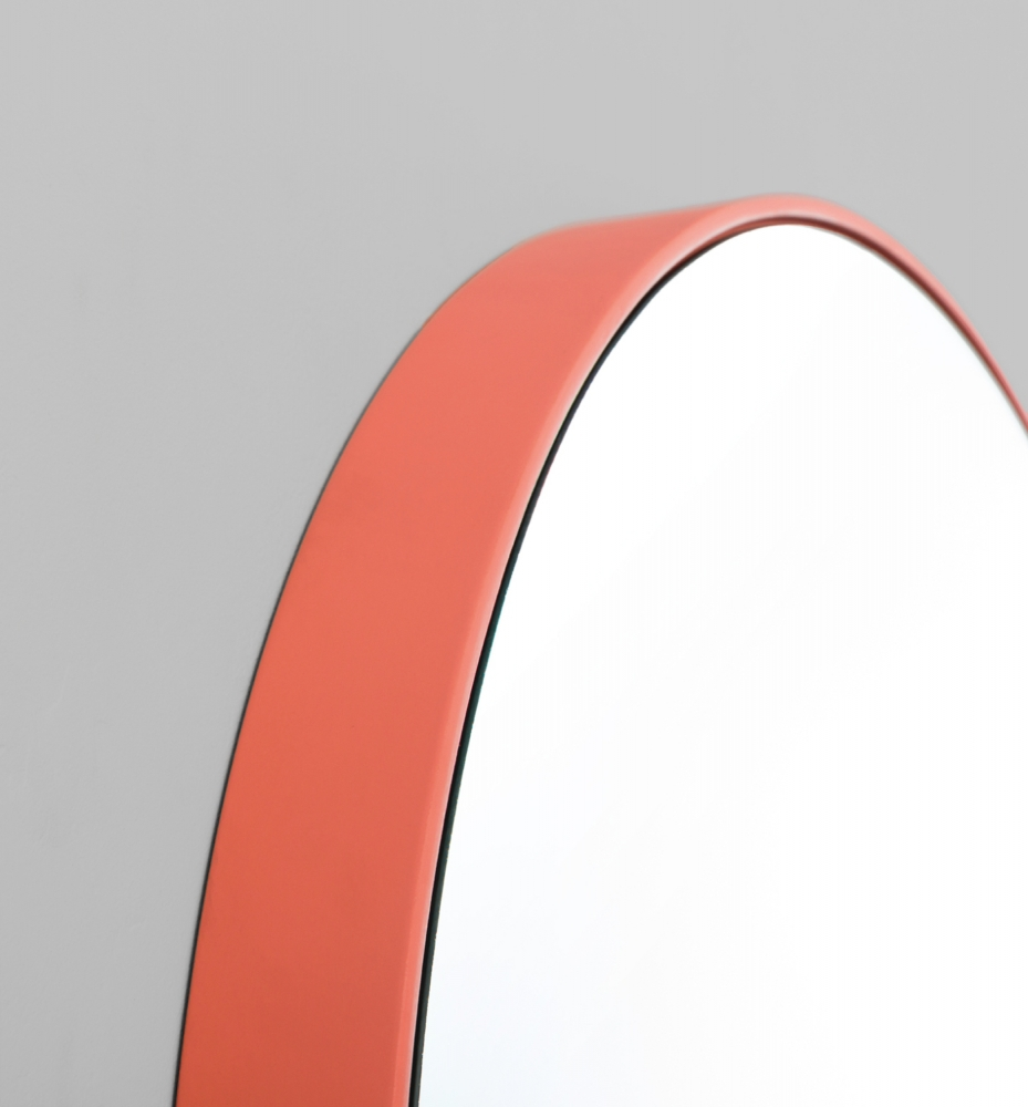 Modern Red Circular Picture Frame Melbourne
