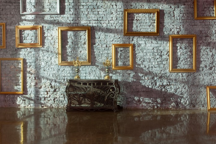 Traditional Ornate Framed Mirrors