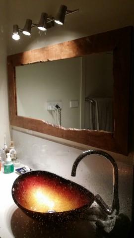 Tasmanian Hardwood Mirror Frame detail